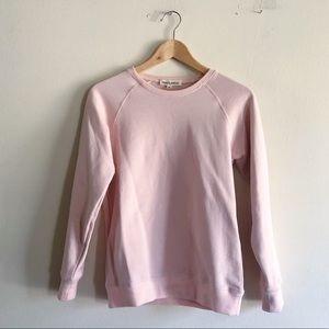 Tradlands 116 Varsity Sweatshirt in Blush